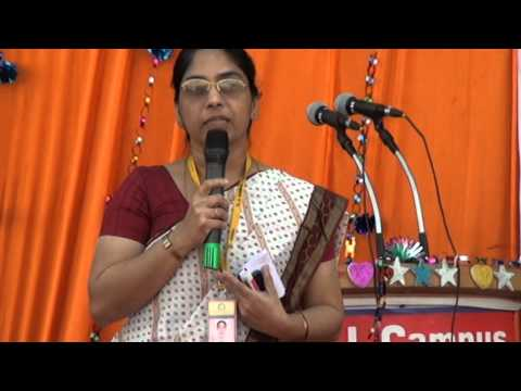 KJIT Principal Message at Global Village 2014 @ KJ Campus, Savli, Vadodara, Gujarat, India