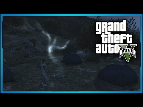 GTA 5: SCARY GHOST LOCATION FOUND!!