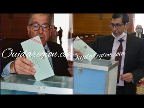 شاهد..مشاركة قوية لقضاة وجدة في انتخاب ممثليهم بالمجلس الاعلى السلطة القضائية