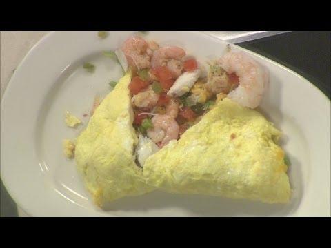 Studio 10: Laps seafood omelette