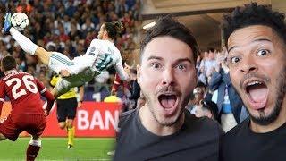 GARETH BALE'S WONDER BICYCLE KICK! | CHAMPIONS LEAGUE FINAL | Real Madrid VS Liverpool
