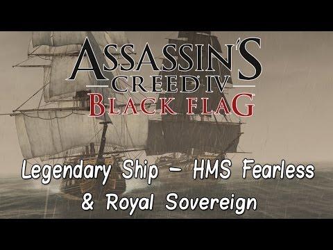 Assassin's Creed IV: Black Flag Legendary Ship - HMS Fearless & Royal Sovereign