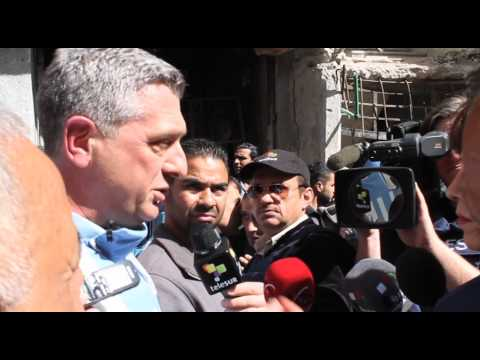 Food distibution in Yarmouk - 31 January 2014