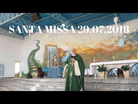 Santa Missa | 29.07.2018 | Padre José Sometti | ANSPAZ
