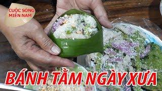 Cách làm BÁNH TẰM KHOAI MÌ gói lá chuối | Nam Việt