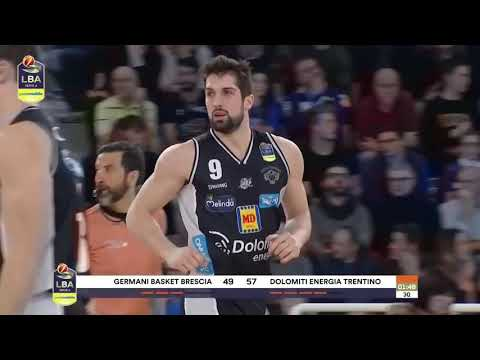 Copertina video Germani Basket Brescia - Dolomiti Energia 79-84