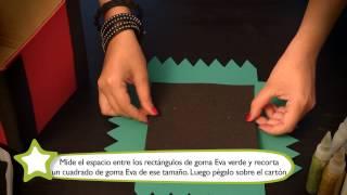 Como hacer una caja para juguetes