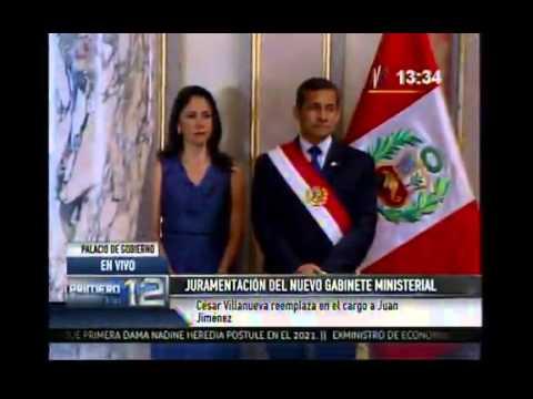 César Villanueva juró como primer ministro en reemplazo de Juan Jiménez   El Comercio Perú
