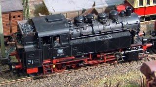 Die analoge Märklin-Modellbahn in Reichshof-Heischeid in Spur H0