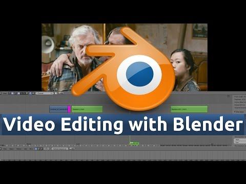 12 - Blender Video Editing (Video Overlay / Transform Strip Dependency)