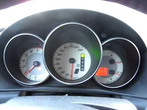 Mazda 3 2007 1.6i AT cold start (-20)