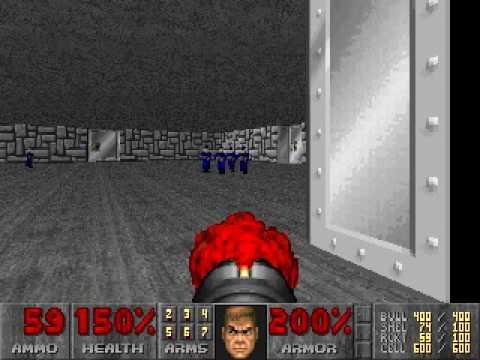 Секретные уровни в Doom 2