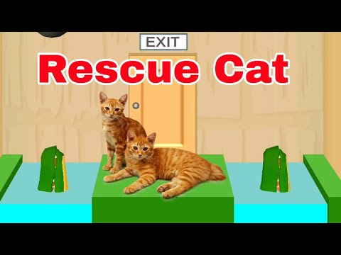 How to play   Rescue cat level  in Rescue Cut game