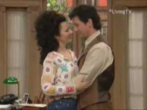 The nanny maxwell amp fran kiss from a rose youtube