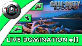 BLACK OPS 2 Live Domination :Get To The Choppa ! (Hunter w/FaceCam)