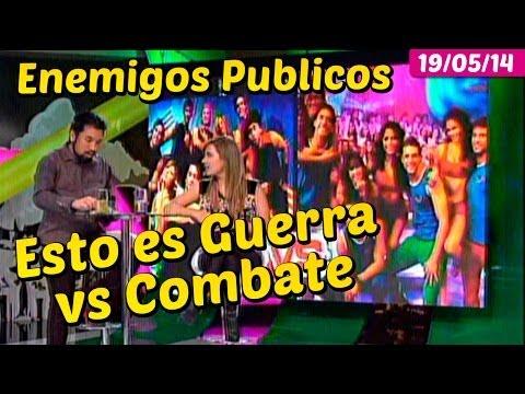 Enemigos Publicos: Esto es Guerra vs Combate estos son los Convocados 19/05/14