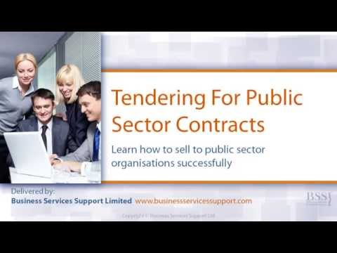 How To Tender For Contracts - Online Training Course
