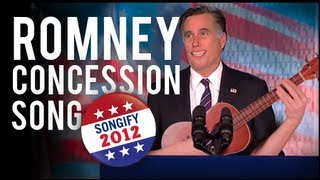 Romney Sings Concession