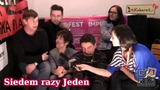 ImproFest 2012 - wywiad z grupą Siedem razy Jeden