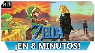 La Leyenda de Zelda en 8 minutos