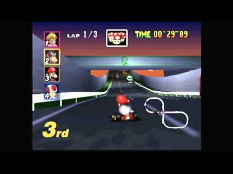 CGR Undertow - MARIO KART 64 for Nintendo 64 Video Game Review