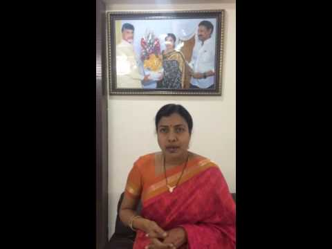 Message from Smt. Gadde Anuradha, Krishna Zilla Parishad Chairman