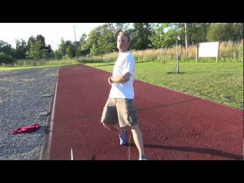 Javelin Throw Help - Foot Position