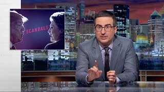 John Oliver: Political Scandals as Raisins