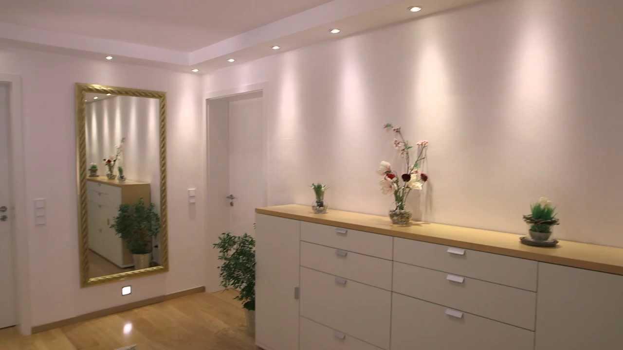 verbatim led lampen flur und treppenhaus youtube. Black Bedroom Furniture Sets. Home Design Ideas