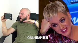 Katy Perry Falls in Love Reaction By Julio Janpierre