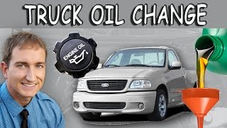 How To Change Oil; Ford F-150 Truck 1997 2003 Tenth