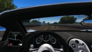 Test Drive Unlimited 2 PC Gameplay + Bugatti @ 420km/h(top