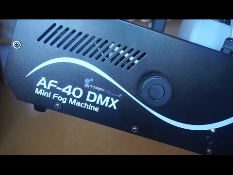Stairville AF-40 DMX Mini Fog Machine Review Deutsch