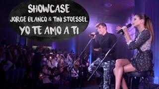 JORGE BLANCO - TINI STOESSEL SHOWCASE // YO TE AMO A TI