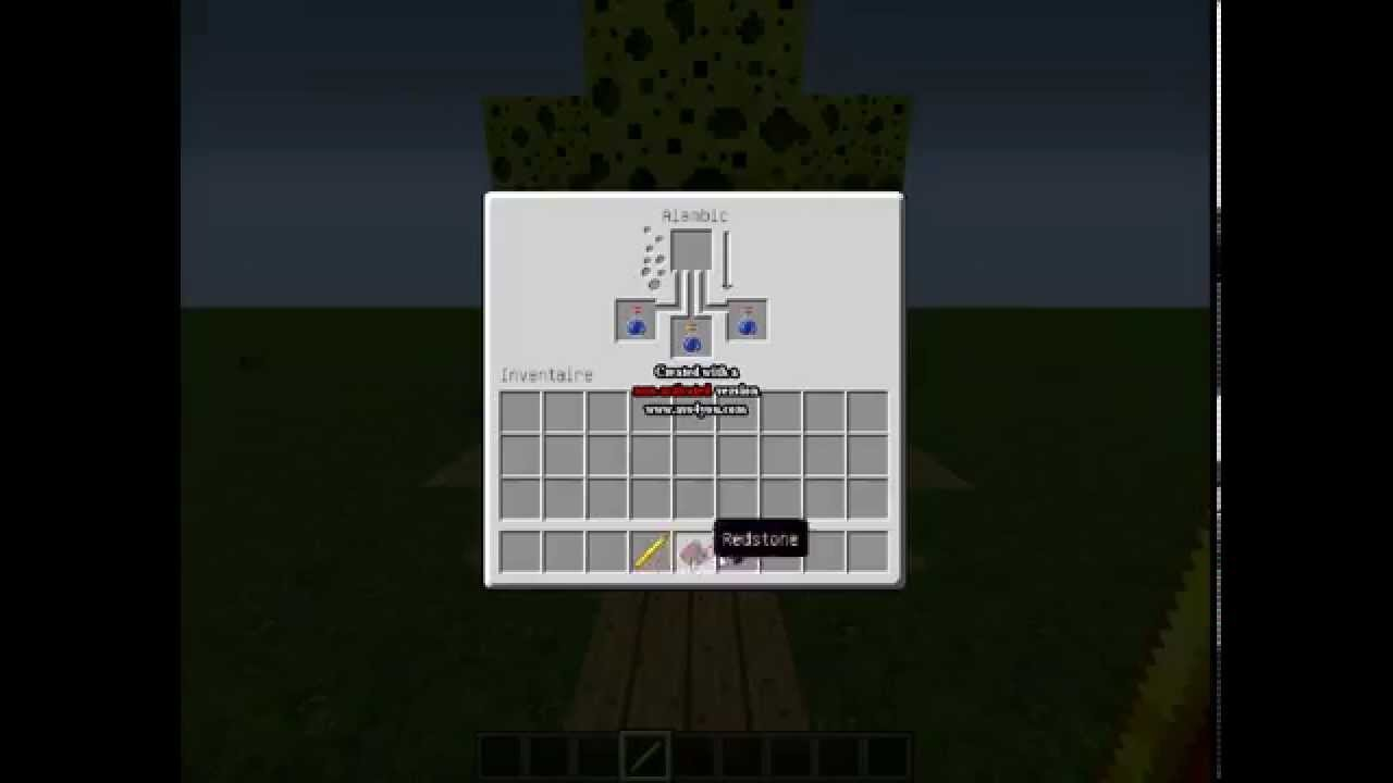 tuto comment faire une potion de force minecraft youtube. Black Bedroom Furniture Sets. Home Design Ideas
