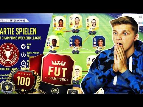 FIFA 18 - 22-0! MEIN NEUER FUT CHAMPIONS REKORD! ⚽🔥⛔️ - Weekend League Ultimate Team Deutsch