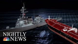 USS John McCain Collision: Families Of Missing Sailors Speak Out | NBC Nightly News