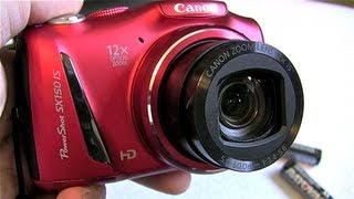 Canon Powershot SX150 IS inceleme