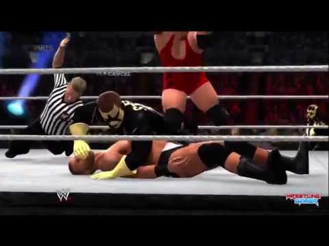 WWE Money In The Bank 2014 Goldust & Stardust vs RybAxel Result!