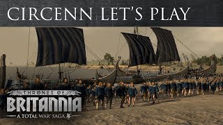 Total War Saga: Thrones of Britannia - Circenn Játékmenet