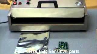 Moisture Barrier bag with vacuum sealing operation CQT
