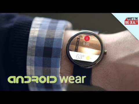 Google's Android Wear: Smartwatch Plans Confirmed