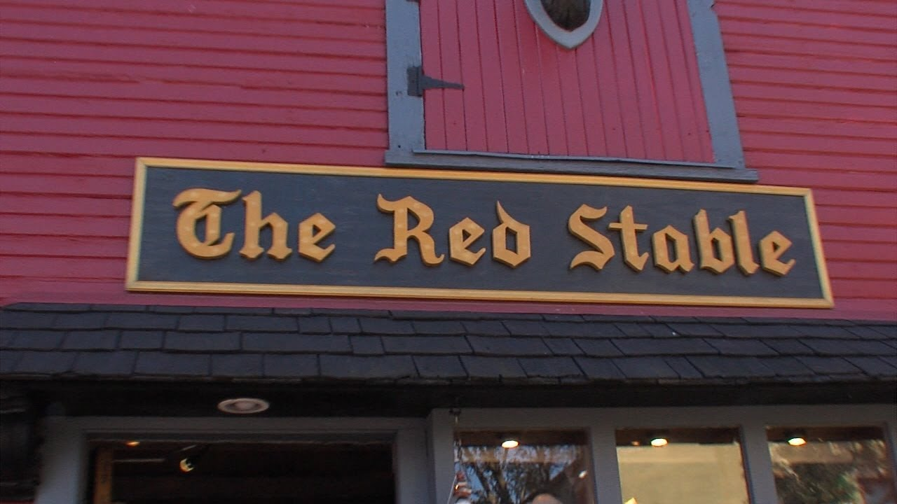 Red Stable In German Village