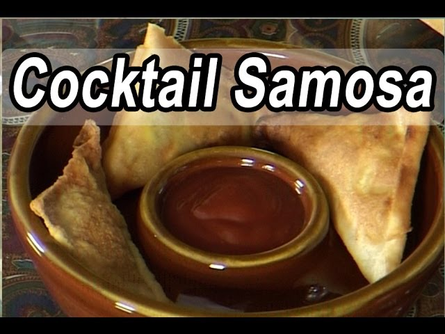 Cocktail Samosa | Indian Cuisine Recipe Video | Tamil