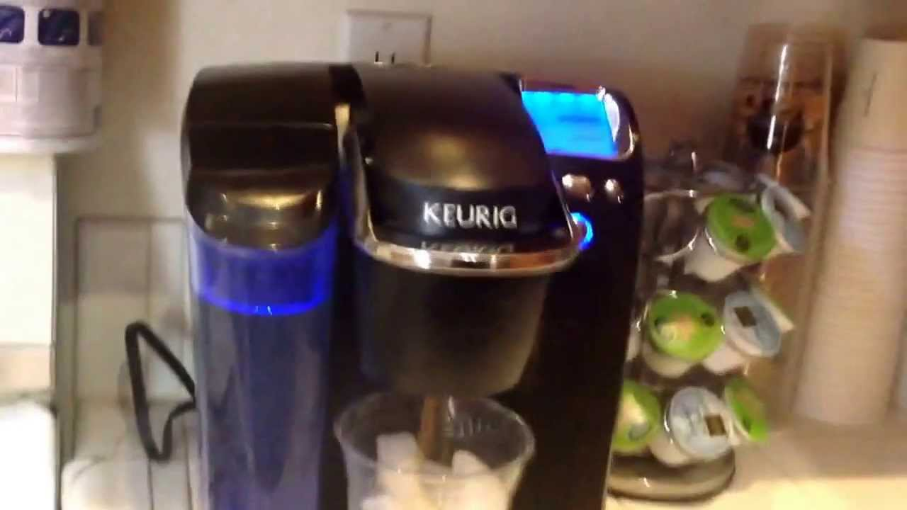 how to make iced coffee with hot keurig