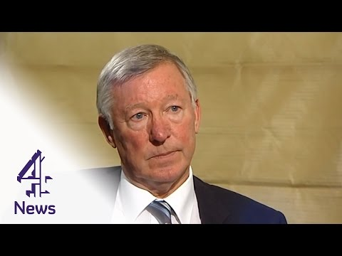 Sir Alex Ferguson on politcs and players - video