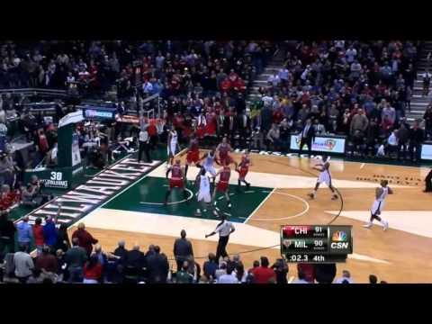 Mike Dunleavy game-winner vs Bucks