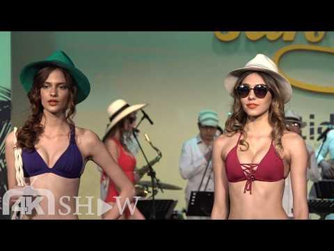 Voda Swim 2017春夏新品聯合發表秀 品牌大使莫莉、Angelina、嘉賓鬼鬼吳映潔 (20170307)