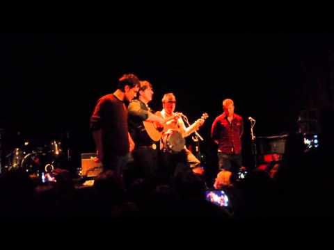 Mumford and Sons private show 2/4/13 -