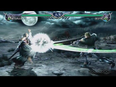 Soul Calibur V: Mitsurugi vs Siegfried (PS3, Xbox 360)